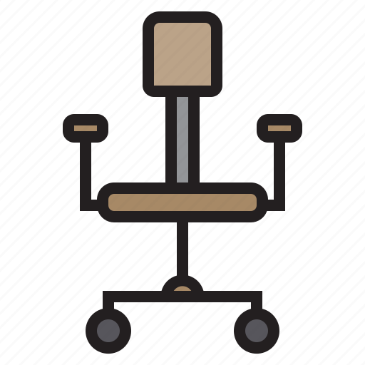 Business, chair, eliement, office icon - Download on Iconfinder