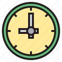 business, clock, eliement, office icon