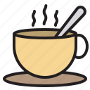 business, coffee, eliement, office icon