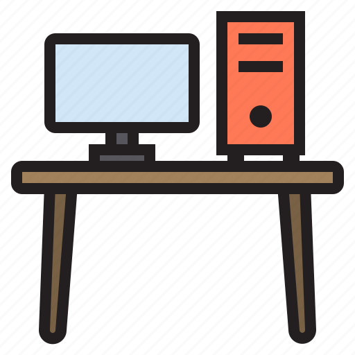 business, computer, eliement, office icon