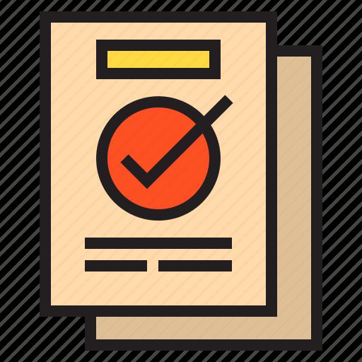 business, document, eliement, office icon
