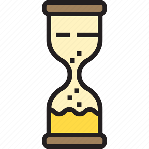 business, eliement, hourglassoffice icon