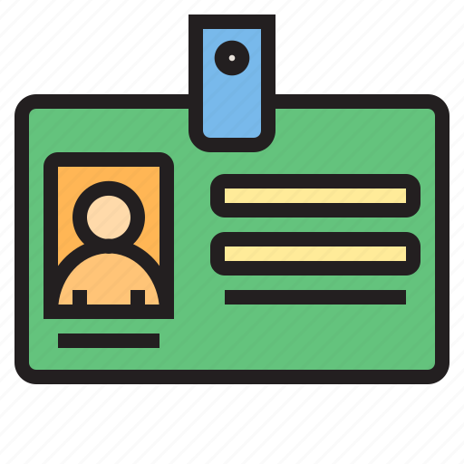 Business, card, eliement, id, office icon - Download on Iconfinder