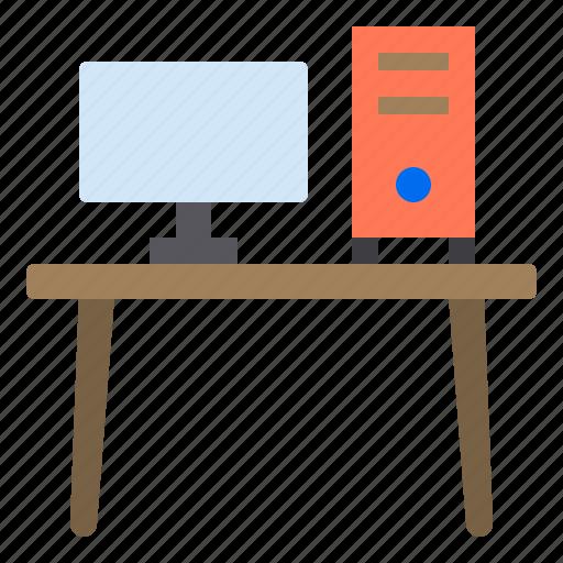 business, computer, eliement, office icon