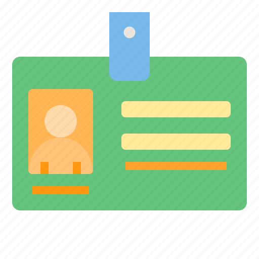 business, card, eliement, id, office icon