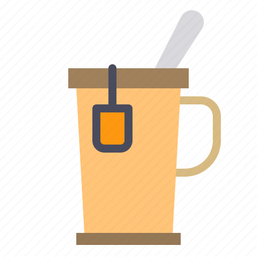 business, eliement, office, tea icon
