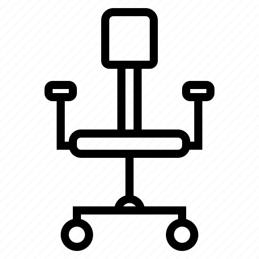 business, chair, eliement, office icon