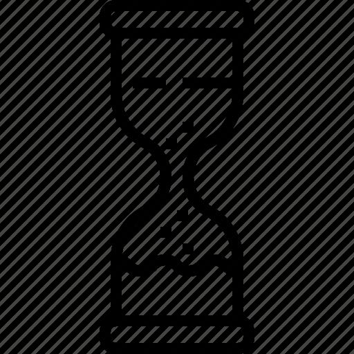 business, eliement, hourglassoffice icon