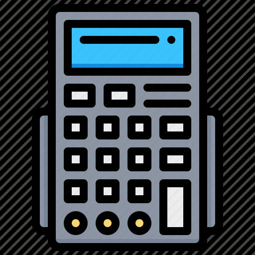 accounting, calculator, calculus, math icon