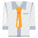 business, necktie, shirt, suit icon