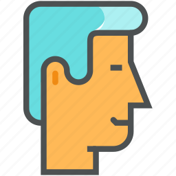 businessman, client, head, leader, man, manager, user icon
