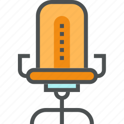 armchair, boss, chair, furniture, office, seats icon