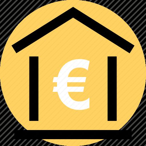 banking, euro, money icon