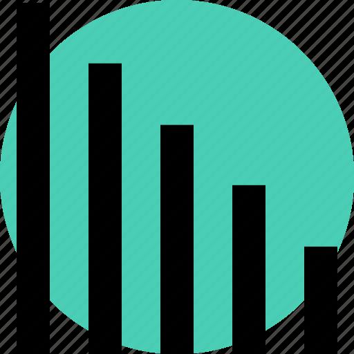 bars, data, low icon