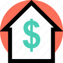 buy, home, house icon