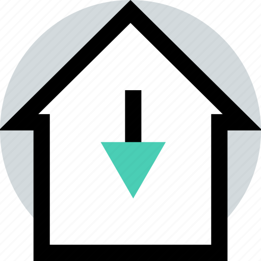 buying, home, low, rate icon