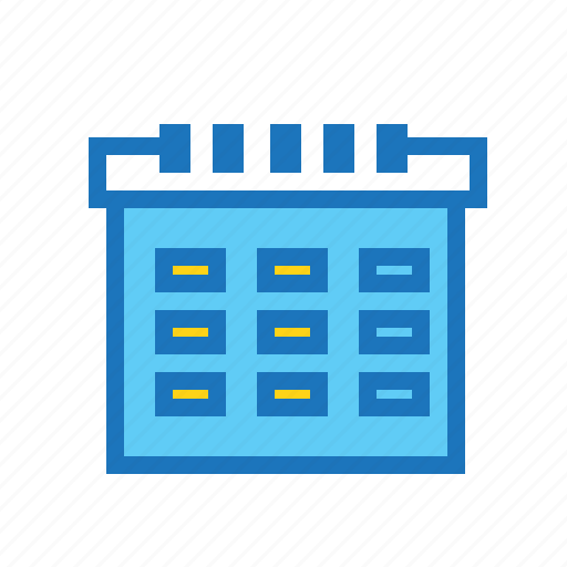 business, calendar, date, finance, schedule, time icon