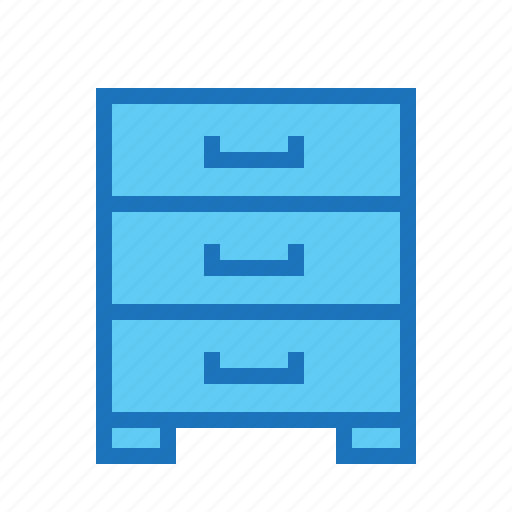 business, cabinet, drawer, finance, money, office icon