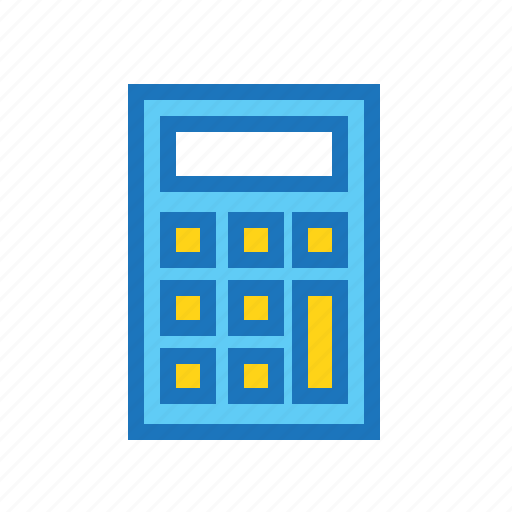business, calculator, cash, currency, finance, money icon