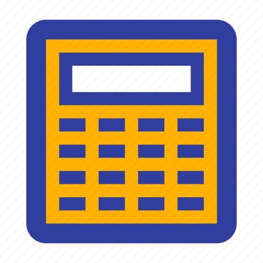 business, calculate, calculation, calculator, finance, management icon