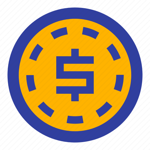 business, coin, dollar, fee, fees, finance, money icon