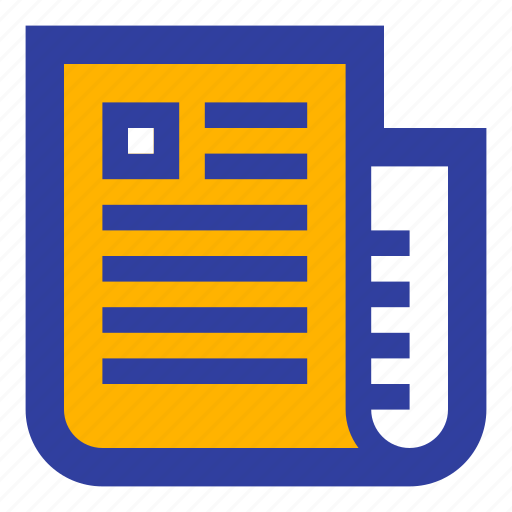 analysis, annual, dollar, graph, news, paper, report icon