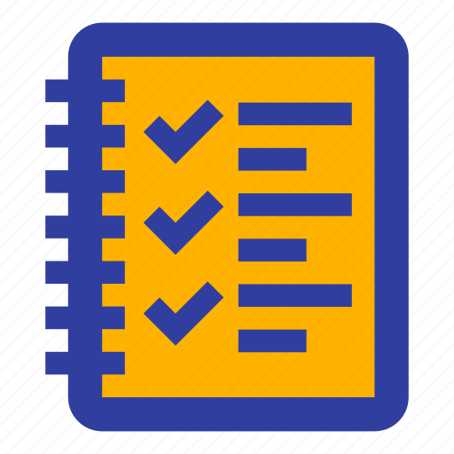 business, checklist, complete, dairy, task, todo icon
