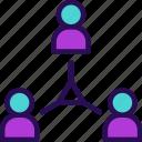 business, group, meeting, partnership, team, teamwork icon