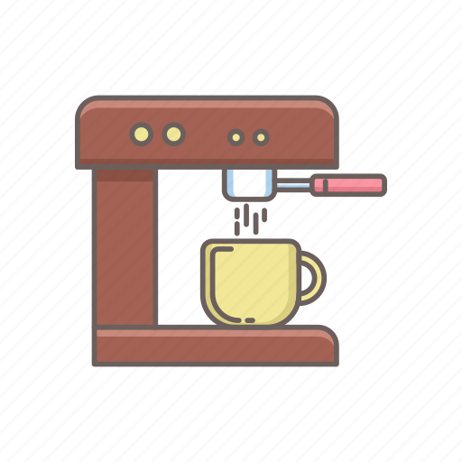 beverage, cafe, coffee, cup, drink, hot, machine icon