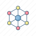connection, internet, link, links, media, network, social icon