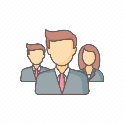 account, business, employee, group, office, profile, user icon