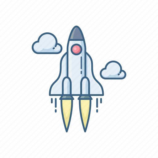 misille, missile, planet, racket, rocket, space, startup icon