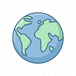 country, globe, location, map, world, worldwide icon