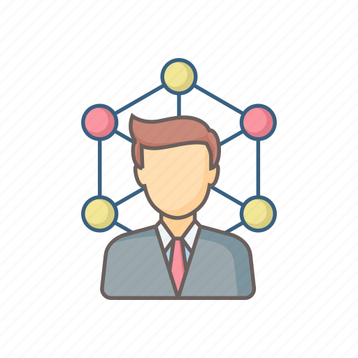 business, connection, link, media, network, plan, social icon