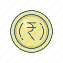 cash, currency, indian, money, rupee, rupees, sign icon