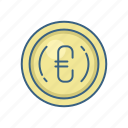 business, currency, euro, financial, money, payment, sign icon