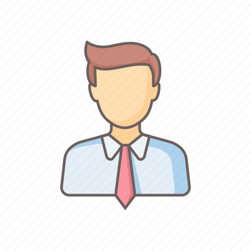 account, boy, businessman, male, man, manager, user icon
