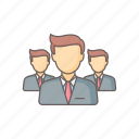 business, employee, group, marketing, people, team, users icon