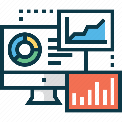 analytics, business, chart, data, graph, poll icon