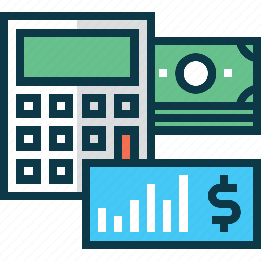 account, bank, business, calculation, calculator, dollar, money icon