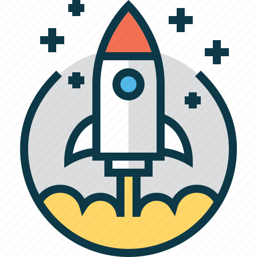 business, new, rocket, space, start, startup icon