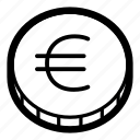 business, coin, currency, eur, euro, finance, money