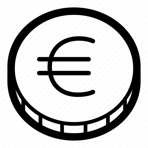 business, coin, currency, eur, euro, finance, money icon