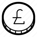 business, cash, coin, currency, finance, liras, money icon