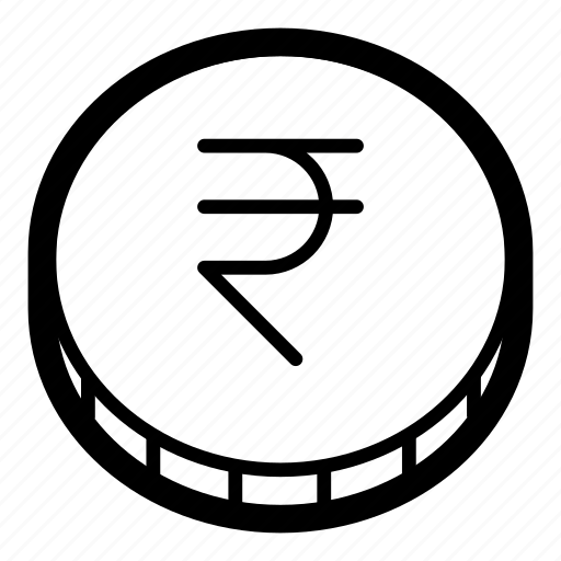 business, cash, coin, currency, finance, money, rupee icon