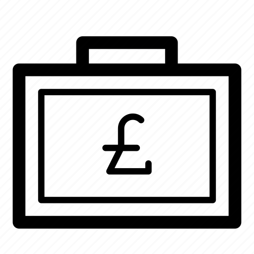 bag, cash, currency, finance, liras, money, suitcase icon
