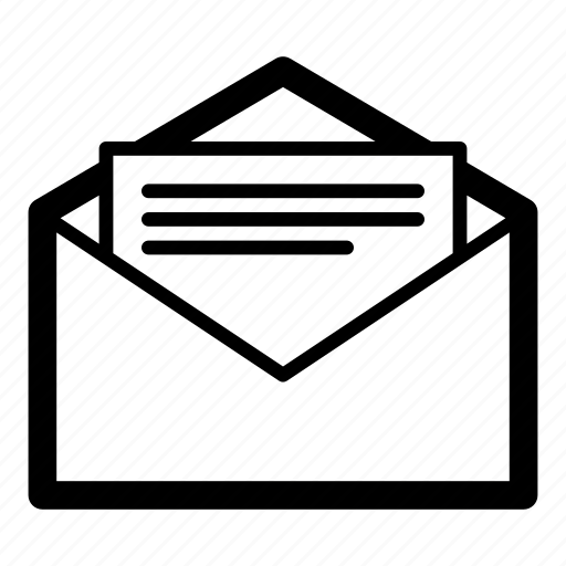 email, enveloper, letter, mail, message icon