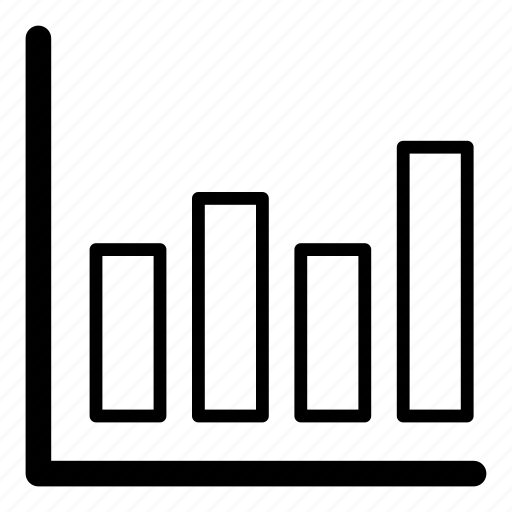 bar chart, chart, diagram, poll, statistics icon