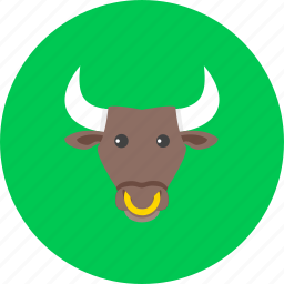 bull, business, ecommerce, finance, marketing, payment, shopping icon