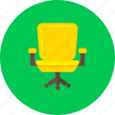 business, chair, ecommerce, furniture, interior, office, shopping icon
